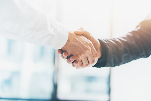 Logistics and Supply Chain Consulting Handshake